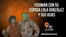 Fishman y Lola Gonzalez en 1985. Aquí La Lucha