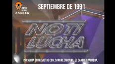 NotiLucha del año 1991. Aquí La Lucha