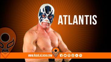luchador Atlantis CMLL. Aqui La Lucha