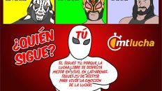 l.a. park, rey fenix, cibernetico, luchadores, cartoon de kcidis
