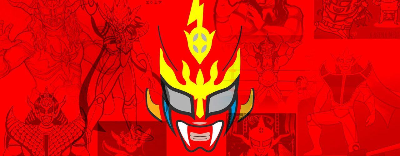 dibujos de jushin thunder liger, aqui la lucha