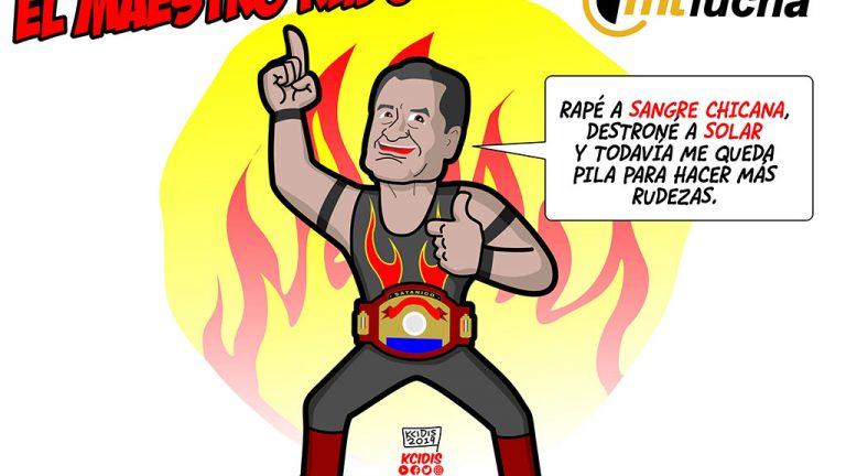 satanico, campeon mundial de maestros, por kcidis